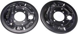 For GMC Chevrolet K1500 88-99 Rear Brake Dust Shield-1 Pair Dorman 924-218