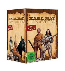 Gesamtbox-KARL-MAY-Classic-WINNETOU-amp-ANTICO-SHATTERHAND-Oriente-16-DVD-EDIZIONE