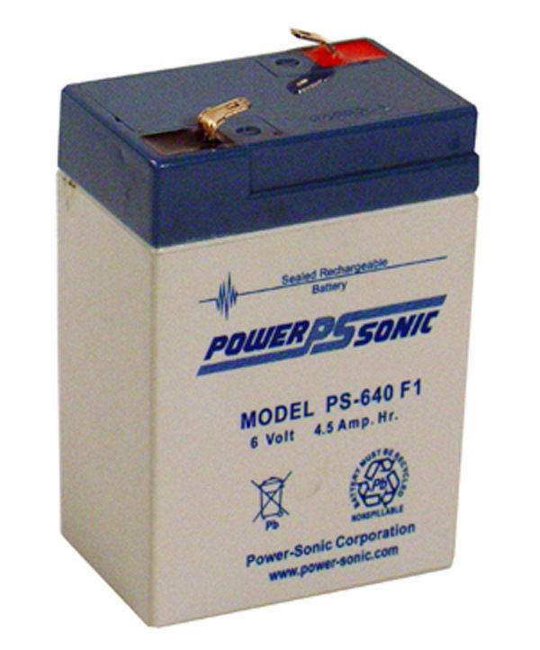 Power STAR Batteries GB640, Sealed lead acid Batteries