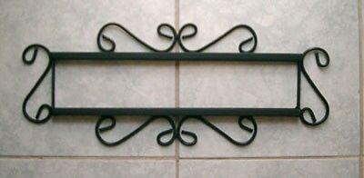 Iron Frame fits 4 Mexican Tiles Talavera 4x4 Horizontal