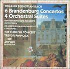 Bach: 6 Brandenburg Concertos; 4 Orchestral Suites (CD, Jul-1988, 3 Discs, DG Archiv)