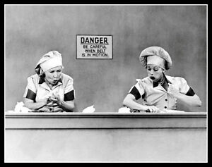 Lucille-Ball-Photo-11X14-I-Love-Lucy-TV-Show-The-Candy-Factory-Epidode1952