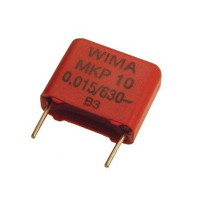 4 WIMA MKP4 250V 0,47uF 15mm Polypropylen Folienkondensator Kondensator 067259