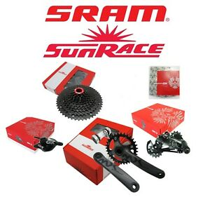 Sram-Eagle-GX-Sunrace-12-Speed-Kit-Group-Cassette-Shifter-Derailler-Chain-Crank