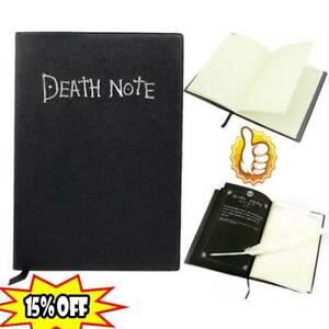 Death-Note-Cosplay-Notizbuch-mit-Federstift-Buch-Anime-Theme-Writing-Journ-Heiss