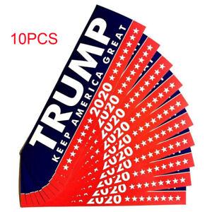 10PCS-President-Donald-Trump-2020-Stickers-Car-Window-Keep-America-Great-Decal
