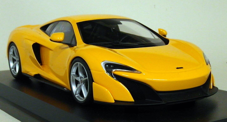 KYOSHO SCALA 1/18 - C09541P McLaren 675LT arancia Auto Modello Diecast