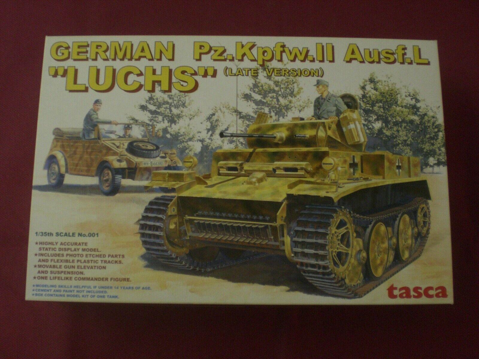 están haciendo actividades de descuento German Pz.Kpfw.II Ausf.L  Luchs  (Late Version) - SCALA SCALA SCALA 1 35 Tasca  compra limitada