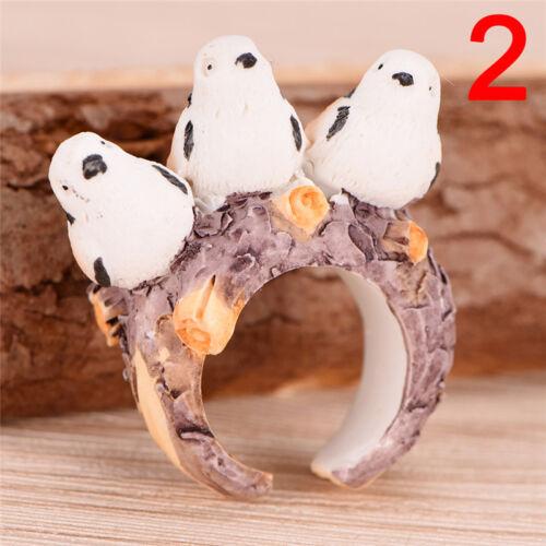 Anillo de las mujeres Vintage ajustable dedo anillo animal Wrap joyería de moda