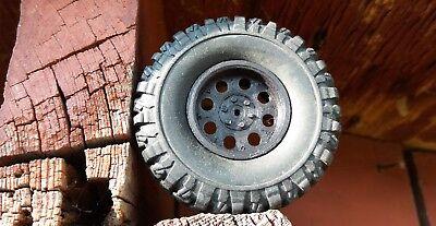 Custom Crawler Revolver Bullethole wheels 1//16 WPL RC Heng Long 4x