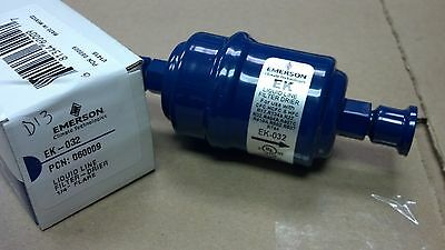 "Refrigeration, Filter Drier, 1/4"" Male Flare SAE  x 1/4"" Male Flare SAE, EK-032"