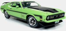 Ford Mustang Mach 1 1971 1/18 - AMM1069 AUTOWORLD