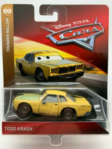 "Disney Pixar Cars Diecast Todd Krash Thunder Hollow 2018-2019 /""RARE/"""