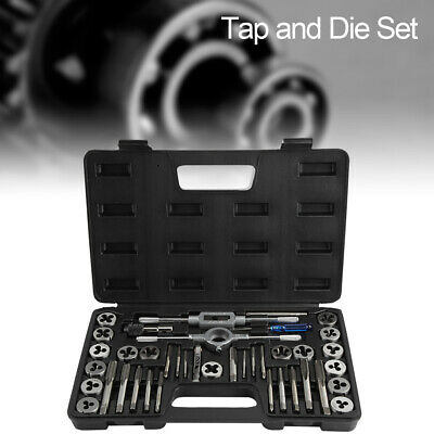 40pcs Tap Wrench Threading Tools Adjustable Taps Dies Wrench Hand Tools