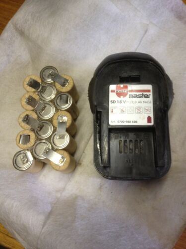 2 kits  baterie ( battery akku bateria) WURTH 18 V en 2Ah