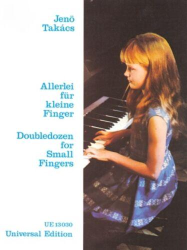 13030 Allerlei für kleine Finger Jenö Takács Universal Edition Nr