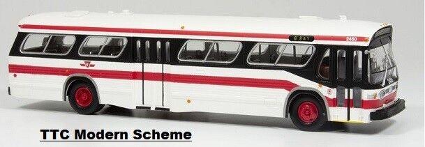 TTC (TGoldnto) New Look Fishbowl Bus  1 87  Rapido 701069   2345 Modern Standard
