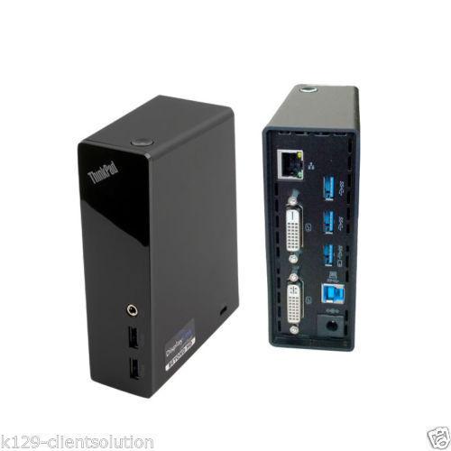 ThinkPad Lenovo USB 3.0 PRO DOCK du9019d1 + REGALO cavo DVI