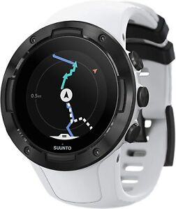 Suunto 5 Smart Watch Activity Tracker - White Black
