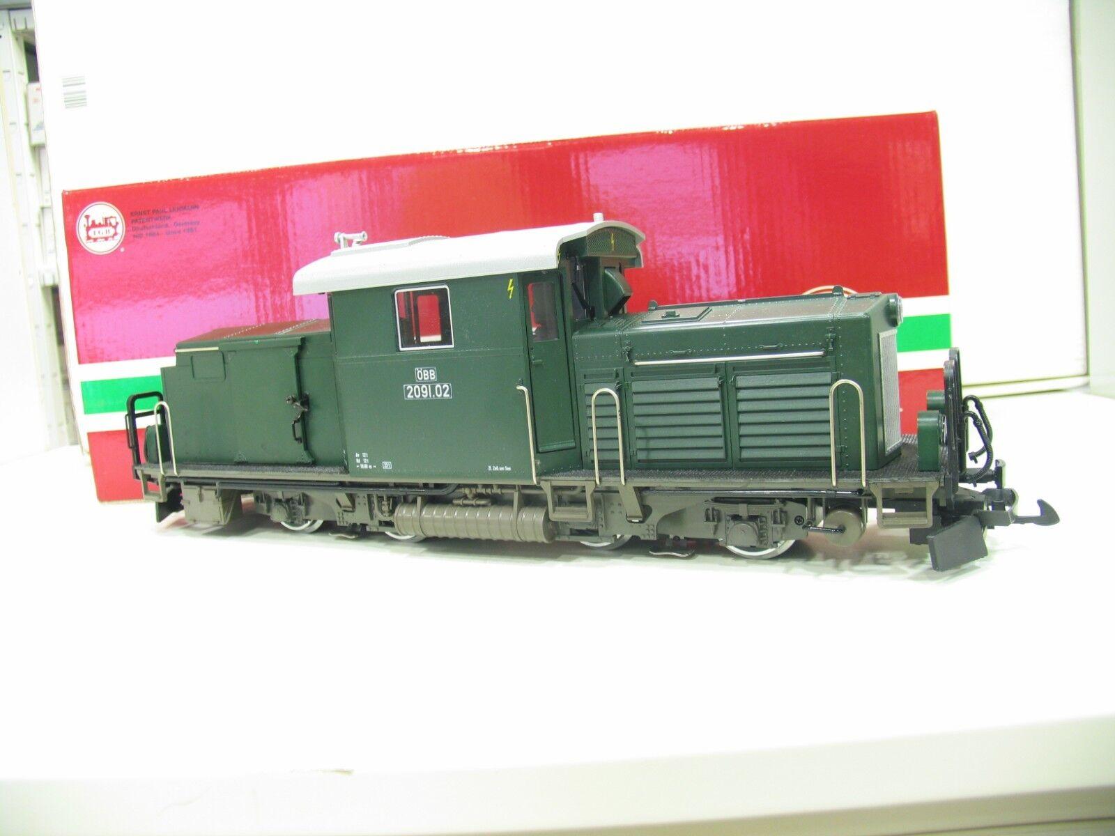LGB 22522 DIESEL BR 2091 verde delle ÖBB MZS digitale/Audio nl860
