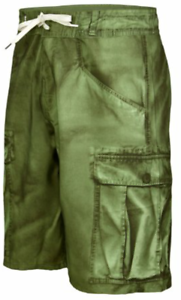 Bench Carlo Boardshort Green Camouflage For Men New