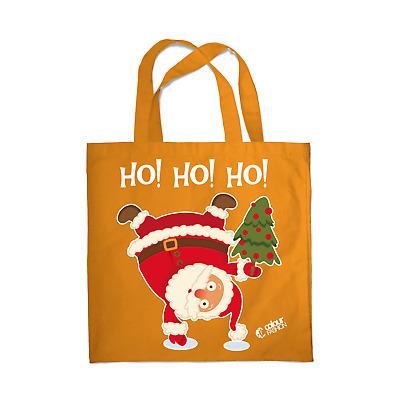Shopping Bag Eco Friendly Christmas Xmas Santa Claus Tote Shoulder Handbag 0079