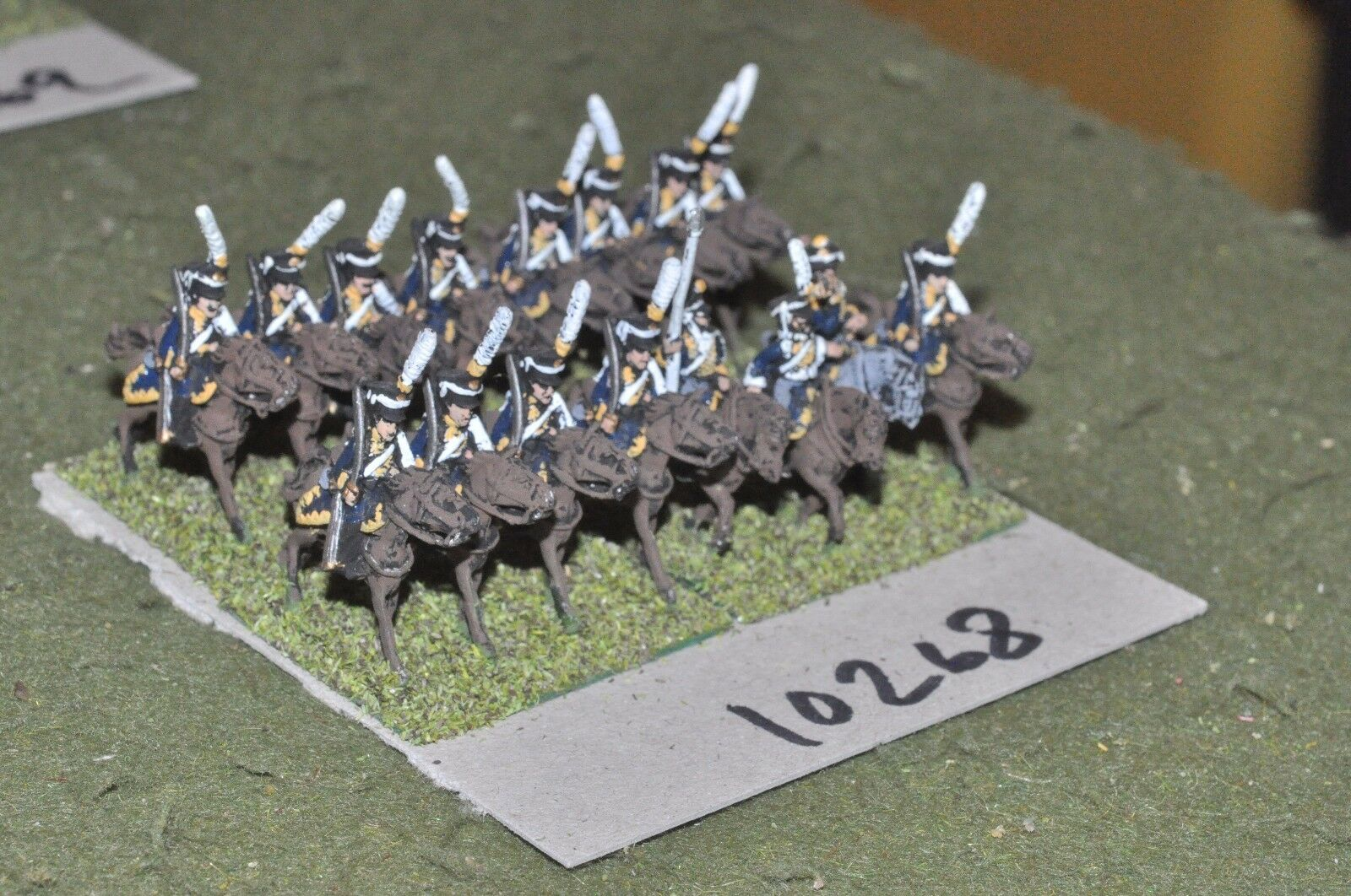 15mm napoleonic   russian - 16 cavalry - cav (10268)