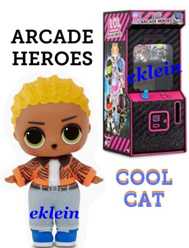 New LOL Surprise Doll ARCADE HEROES •Cool Cat//Claw• Confirmed /& Sealed