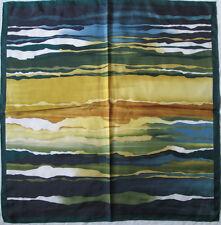 TORRENTE   foulard 100% soie  en TBEG vintage  86 x 88 cm