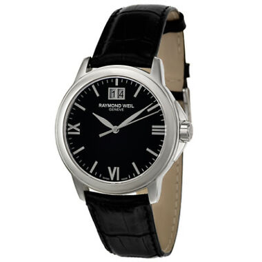 Raymond Weil Tradition Men's Quartz Black Dial Watch