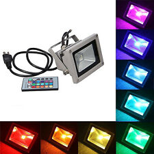 Outdoor Waterproof Spotlight Wall Wash Flood Light LED 16 RGB Color Change 10W