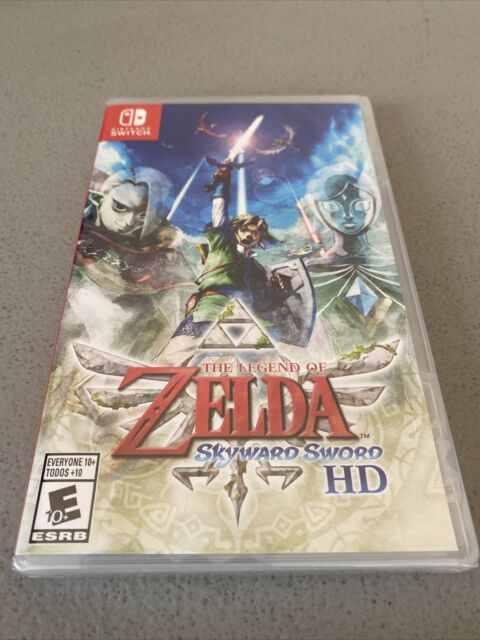 The Legend of Zelda: Skyward Sword HD (Nintendo Switch, 2021) New Release