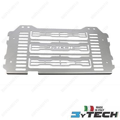 Stelvio MyTech Protezione radiatore anodizzato nero