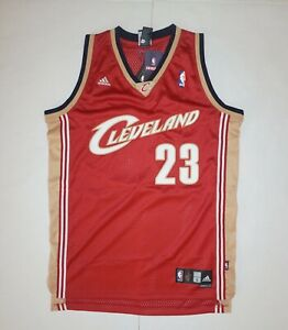 new products ef6f1 514ba Details about Vintage Adidas LeBron James NBA Cleveland Cavaliers Cavs  Swingman Jersey