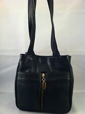 "LYNN STUART ~ Black Shoulder Bag 8.5"" X 4"" X 8"" sd 14"""