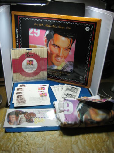 Elvis Presly Collection, Metal Poster, First Day Covers,T-Shirt,