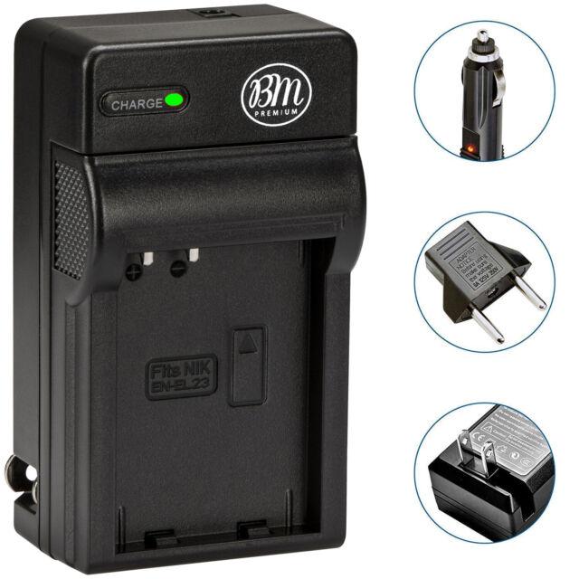 Dual Ladegerät EN EL23 für Nikon Coolpix P600 S810c P610 P900