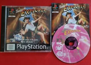 Barbie Explorer-Sony Playstation 1 ps1 PSone komplett PAL Black Label HTF