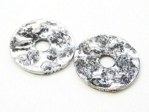Metal perlas metallspacer rosquilla 22,5mm 5 unidades serajosy