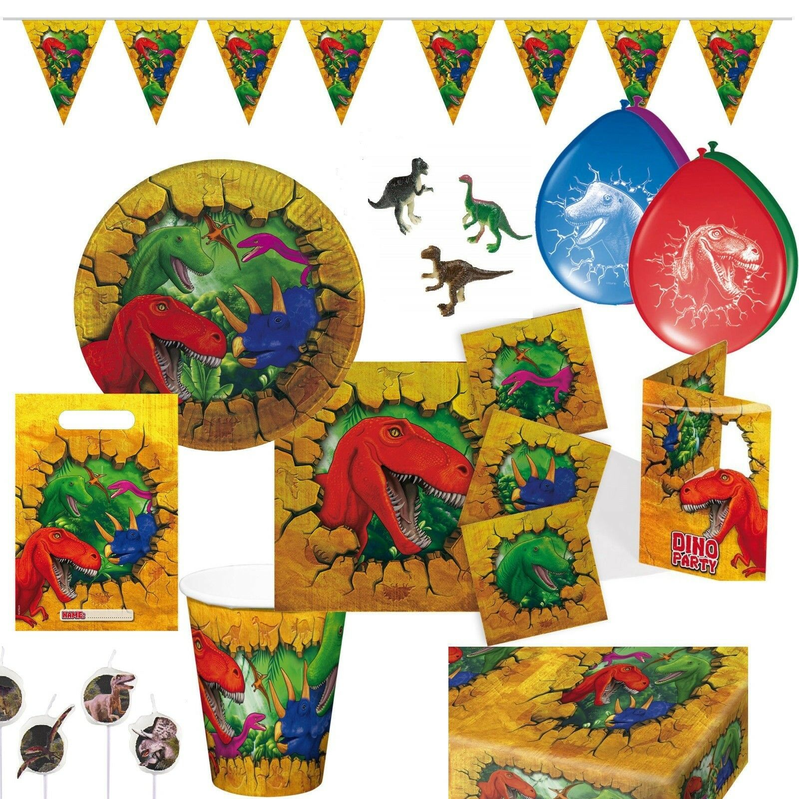 96 Teile Teile Teile Dinosaurier Dino Kindergeburtstag Deko 12 Kinder Mitgebsel Mottoparty | Schönes Design  | New Style  7de24e