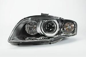 Audi-A4-B7-06-08-Xenon-Chrome-Headlight-With-AFS-Clear-Indicator-Left-N-S-OEM