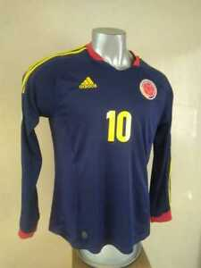 Image is loading SELECCION-COLOMBIA -NATIONAL-TEAM-2013-FIFA-QUALIFIER-ADIDAS- 368da06ee