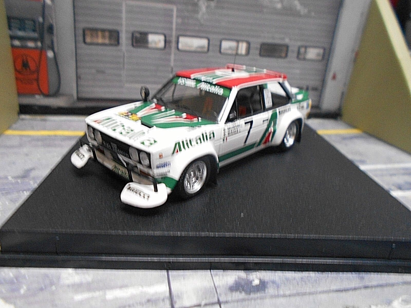 FIAT 131 Abarth Rally Safari 1979  7 Munari Maiga Alitalia PIRELL Trofeu 1 43