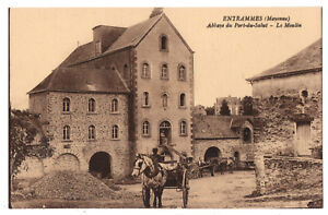CPA-53-ENTRAMMES-Mayenne-Abbaye-du-Port-du-Salut-Le-Moulin