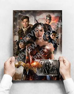 Wonder Woman - A3 Poster - Gal Gadot Movie Poster