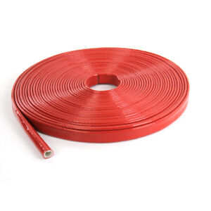 Details about 15mm Silicone Spark Plug Wire Sleeve Heat Protector 3.3ft on
