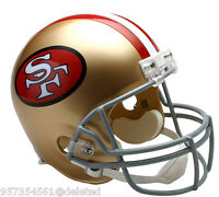 San Francisco 49ers Throwback Full Size Football Helmet
