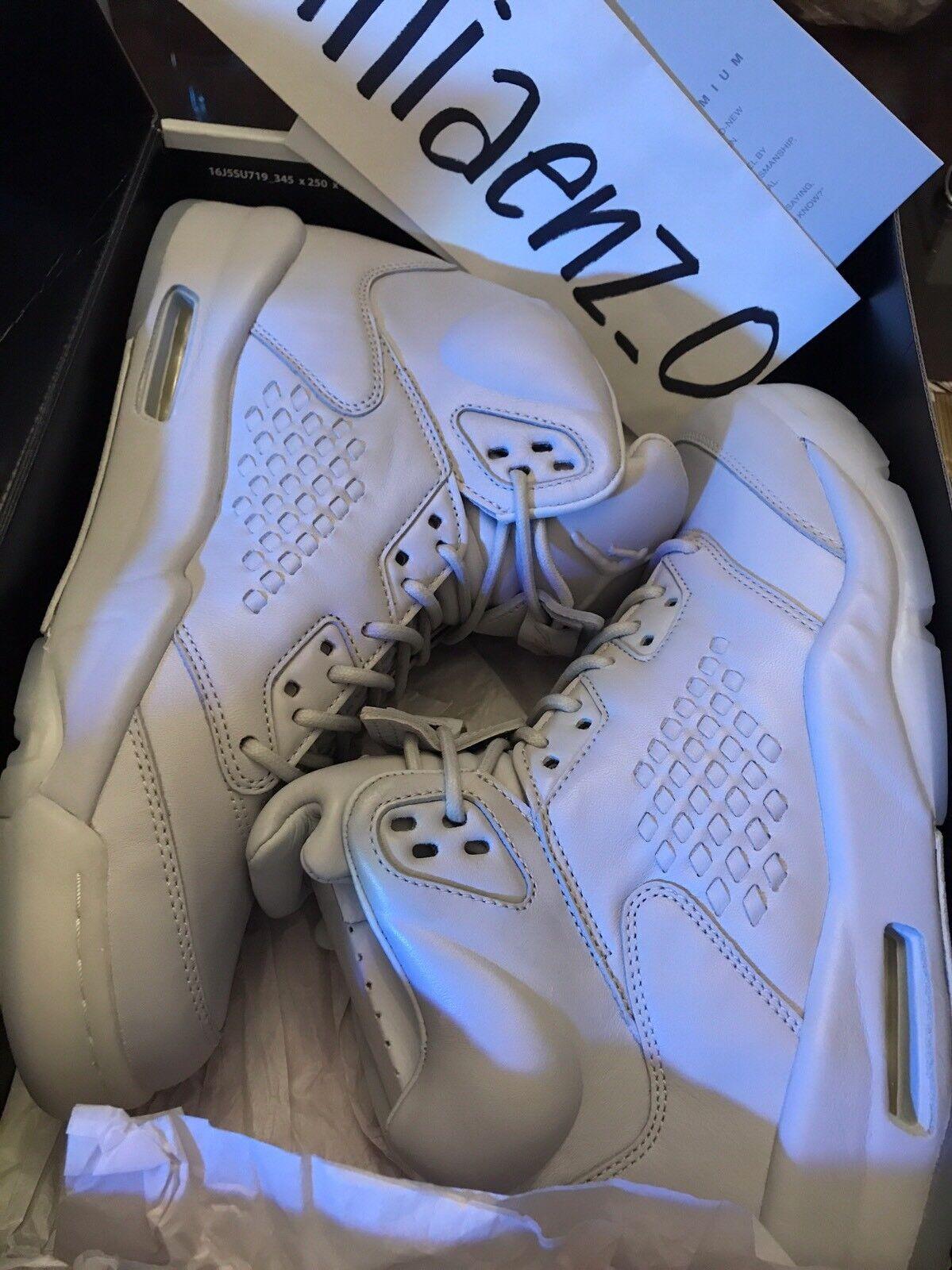 Nike Air Jordan 5 Retro PREM Premium V Pure Pure Pure Platinum Men AJ5 shoes 881432-003 87bf52