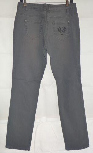 38 42 40 46 44 Fashionalm Donna Jeans Trachten GRIGIO ANTRACITE MIS 48 NUOVO!!!