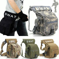 Swat Multi-purpose Weapons & Tactics Cs Leg Drop Utility Bag Thigh Pack Pouch